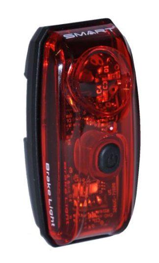 Baglygte SMART SuperFlash LED USB med Bremselys