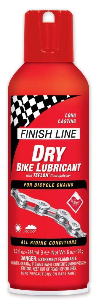 Kædeolie Finish Line Dry 240 ml Spray