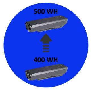 Batteriopgradering Bosch 400-500