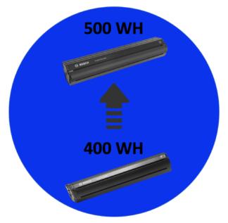 Batteriopgradering Bosch Stel 400-500