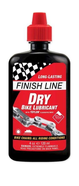 Kædeolie Finish Line Dry 120 ml