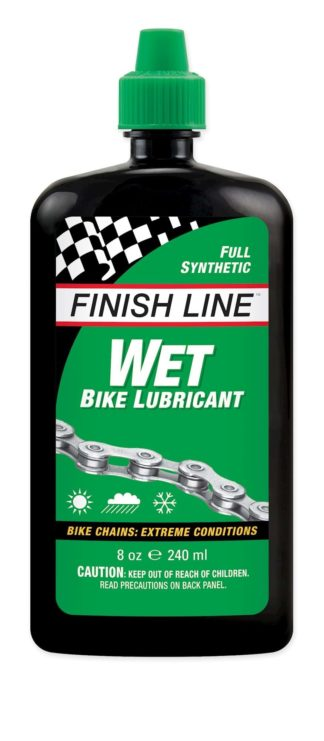 Kædeolie Finish Line Wet 240 ml