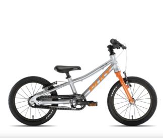 Puky S-Pro 16 Sølv Orange