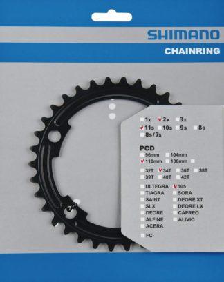Klinge Shimano 105 34T